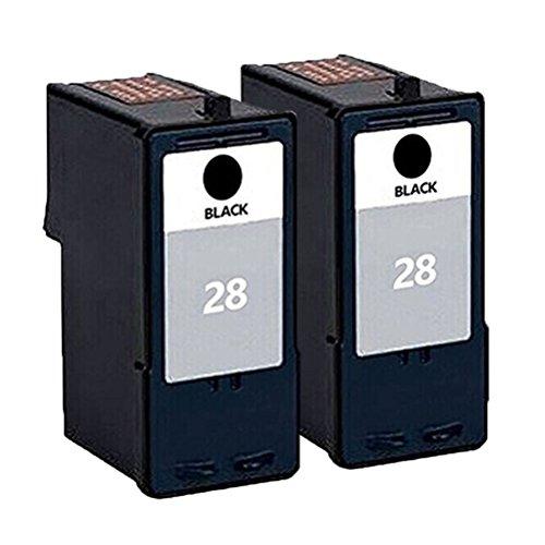 ouguan 2X Nero Compatibile Cartucce d' inchiostro per Lexmark 2829per Lexmark X5070X 5075x5320X 5340x5410X 5495stampante