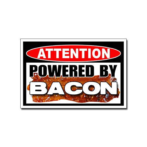 215 Decals, Graphics, Skins & Stickers Powered By Bacon Funny Vinyl Sticker Decal Pig Love