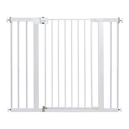 Safety 1st Easy Install Extra Tall and Wide Baby Gate with Pressure Mount Fastening Pack of 1