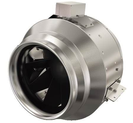 Fantech 10 Inline Mixed Flow Fan - 1187 Cfm @ .25 Sp Fkd 10xl