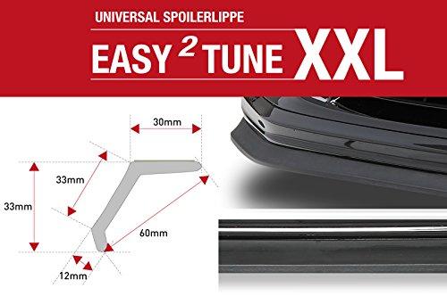 Preisvergleich Produktbild CSR-Automotive Easy²Tune XXL Universal Spoilerlippe zum ankleben ZB144