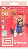 2018-19 Panini STATUS NBA Basketball Card Factory Sealed Hanger Box - 30 Cards Per Box - Chase LUKA DONCIC, TRAE YOUNG Rookie Cards and EXCLUSIVE Blue PRIZM ... rookie card picture