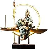 LULUDP-Decoración Chino estatua coleccionable estatuilla estatua Guan Yu Guan...