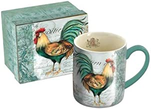 vintage rooster mugs