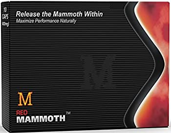Red Mammoth  20 Caps  All Natural Energy & Strength Supplement