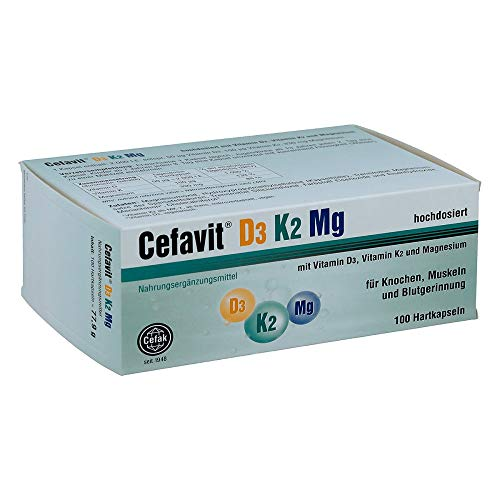 Cefavit D3 K2 Mg Hartkaps 100 stk