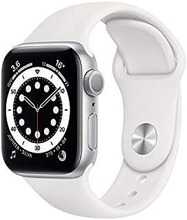 Apple Watch Series 6 Gps, 40 mm, Alumínio Prata, Pulseira Esportiva Branco - Mg283be/a