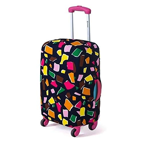 YsaAsaa Washable Travel Suitcase Protective Cover, Trolley Suitcase Cover, Trolley Luggage Dust Cover Fits for 18-20 inch Suitcase