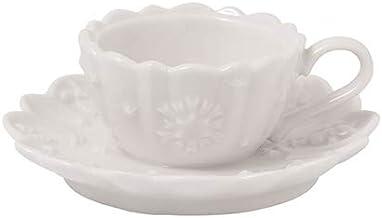 Villeroy & Boch Toy's Delight Royal Classic Dec. Tea Light Holder, Premium Porcelain, White, 23,5 cm / 0,33 l