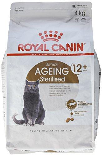 Royal Canin Comida para gatos Sterilised +12 4 Kg ⭐