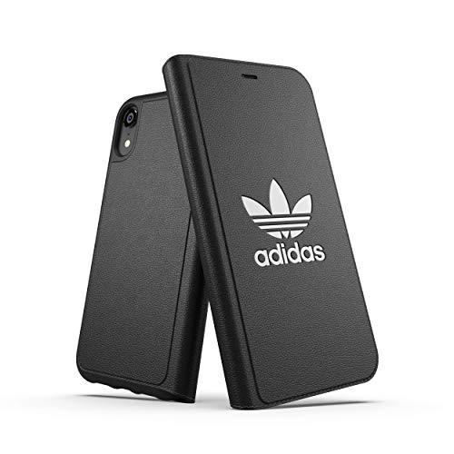 Adidas Booklet Basic Funda para teléfono móvil 15,5 cm (6.1') Folio Negro - Fundas para teléfonos móviles (Folio, Apple, iPhone XR, 15,5 cm (6.1'), Negro)