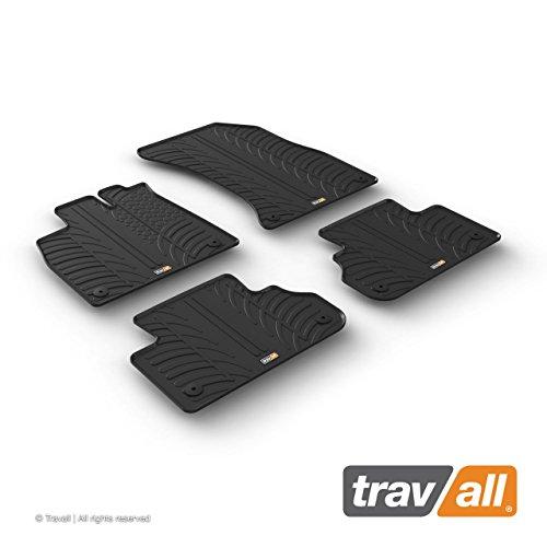 Travall Mats Gummifußmatten TRM1273 – Allwettermatten Nach Maß Fussmatten Set