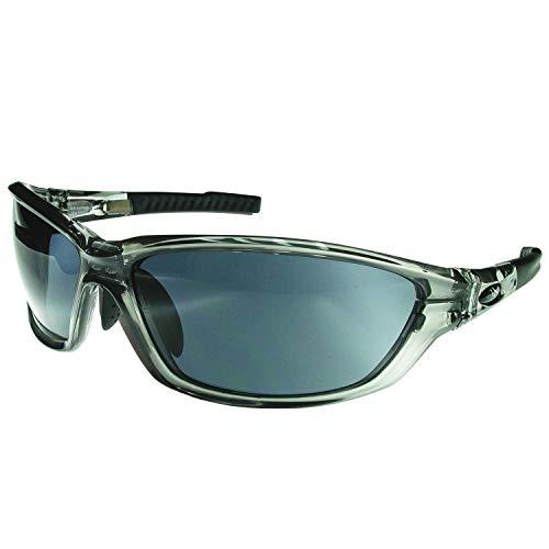 BIGWAVE Pro-Action 904 grau – Superentspiegelte Premium UV 400 Sportbrille mit 4 Wechselgläsern–Radsportbrille mit schmutzabweisender Clean-Coat Beschichtung mit Sehstärke für Damen und Herren