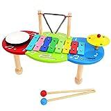 Keepdrum Music Center - Juego de percusión infantil