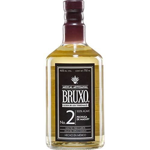Pack de 12 Mezcal Bruxo No 2 Pechuga De Maguey 750 ml