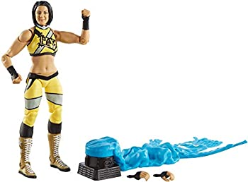 WWE Bayley Elite Series #80 Deluxe Action Figure with Realistic Facial Detailing Iconic Ring Gear & Accessories