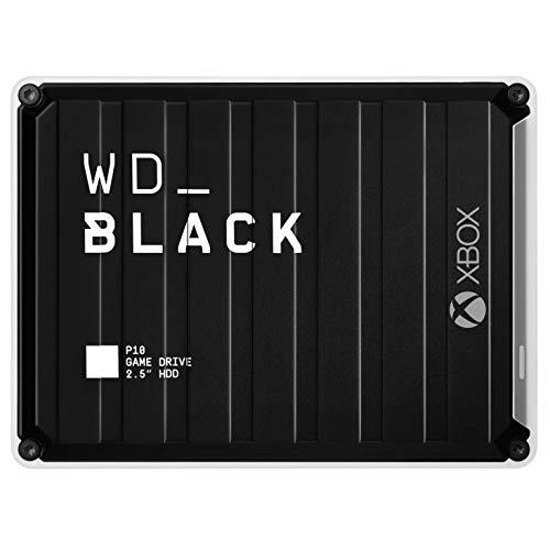 WD_BLACK P10 Game Drive for Xbox One da 3 TB per Accedere Sempre alla Tua Libreria di Giochi per Xbox