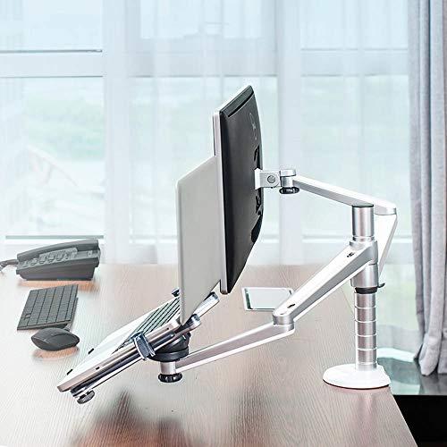 Monitorstandaard Notebook Computer Combinatie Stand Computer Radiator Stand en LCD-monitor kan worden verhoogd en verlaagd Desktop Stand Up To 15,6-inch Praktisch en Comfortabel Ontwerp
