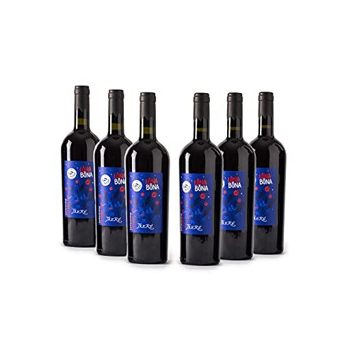 Trerè Vino Rosso Pregiato Sangiovese DOC 6 Bottiglie Regalo Donna Uomo Compleanno Idee Regalo Anniversario Matrimonio Servire Vino In Calici Da Cantina Vino Rosso Bicchieri Vino Decanter Vino
