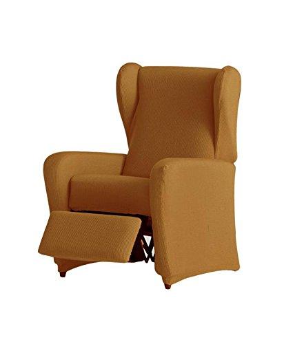 Eysa - Funda de sillón Relax elástica Ulises - Color Mostaza