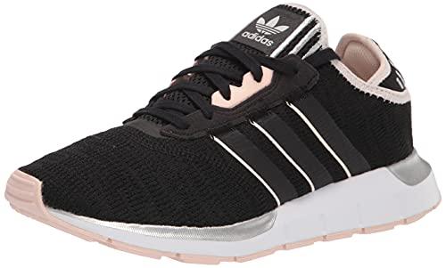 adidas Originals Tenis Swift Run X para mujer, negro (Negro/Rosa/Blanco), 38 EU