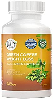 Green Coffee Bean Weight Loss - Appetite Suppressant   Diet Pills   Fat Burner   Health Booster Supplements   Belly Buster   Metabolism Booster Capsules   Maximum Strength Natural Extract Formula