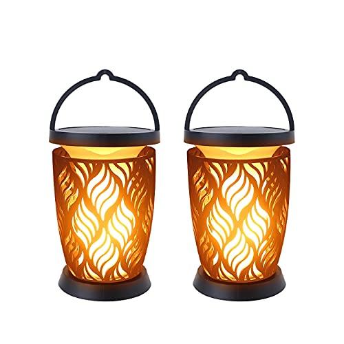 Lámparas de 96 perlas impermeables para iluminación de paisaje, antorchas de seguridad, luces para antorchas de yardas al aire libre