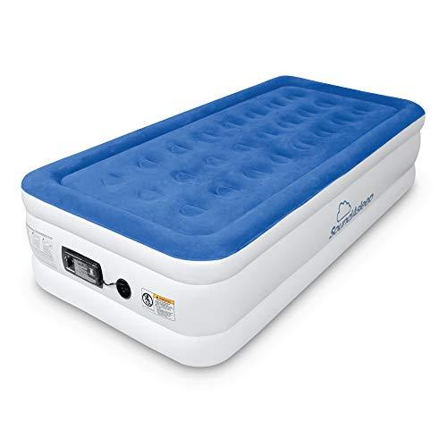 SoundAsleep Dream Series Luftmatratze mit ComfortCoil-Technologie und interner Pumpe mit hoher Kapazität (Twin XL)