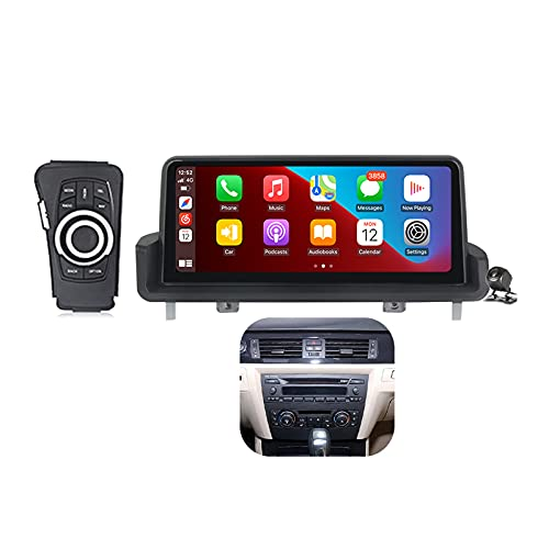 Buladala Qualcomm Android 11 Radio Estéreo para Coche para BMW 3 Series E90 E91 E92 E93 2005-2012 GPS Navigator Pantalla de 10.25'' Unidad de Cabezal Soporta Carplay Auto SWC CD DVD DSP,450: 4+64 GB