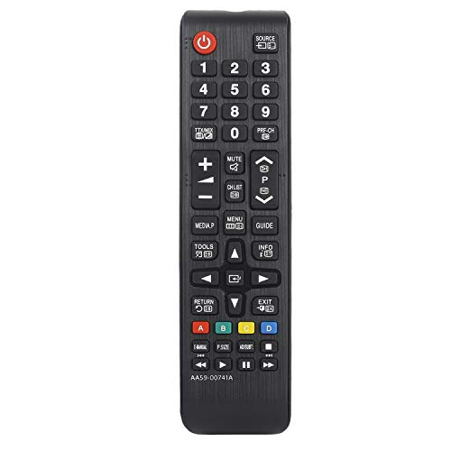 New Replaced Remote Control AA59-00741A fit for Samsung Smart TV UN50EH5000F UN50EH5000V UN50EH6000F UN50EH6050F UN50F5000AF UN55EH6000F UN55EH6050F UN60EH6000F UN60EH6050F UN65EH6000F UN65EH6050F