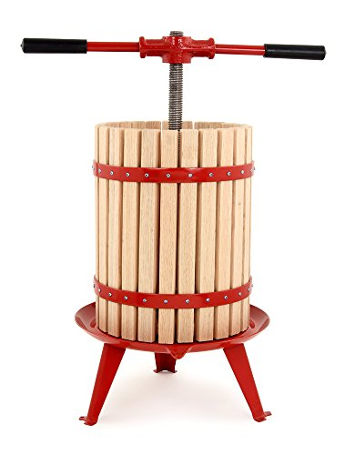 TSM Products 18-Liter Harvest Fruit and Wine Press, Small