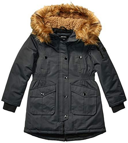 Diesel Mädchen Outerwear Jacket (More Styles Available) Daunenalternative, Mantel, Paprika Black, 6X
