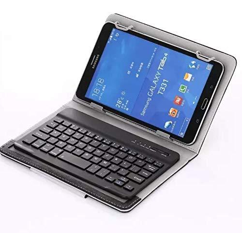 Funda para teclado Bluetooth de 10 a 11 pulgadas, universal, clips movibles, para tablet Every, carga USB, teclado, funda