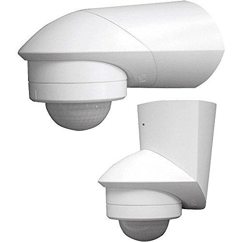 Grothe 94531 Aufputz PIR-Bewegungsmelder 240° Relais Weiß IP55