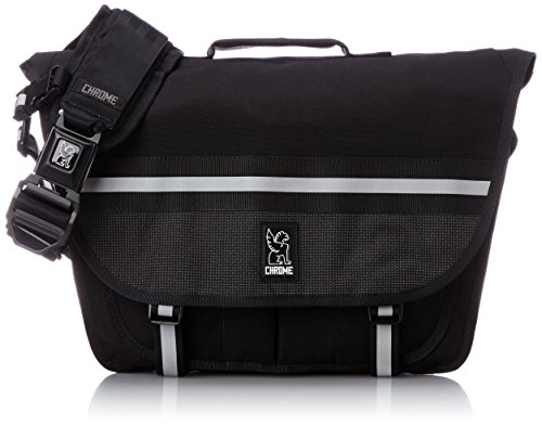 Chrome BG-175-NITE Night Black One Size Mini Buran Messenger Bag Black...