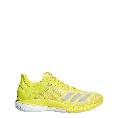 adidas Damen Crazyflight X 2 Volleyballschuhe, Gelb (Amasho/Placen/Ftwbla 000), 42 2/3 EU