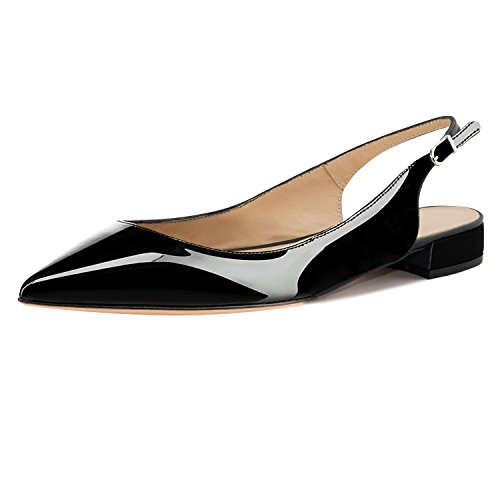 Top 10 best selling list for black flat pointed court shoes