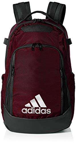 adidas Unisex 5-Star Team Backpack, Team Maroon, ONE SIZE