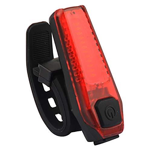 Breezeu Fanale Posteriore per Bici LED USB Ricaricabile per Casco da Bicicletta Zaino per La Sicurezza Spia di Sicurezza Posteriore Mountain Bike Anteriore