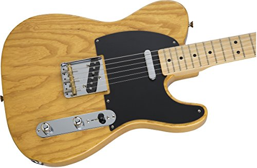FenderエレキギターMIJHybrid'50sTelecaster®,Maple-VintageNatural