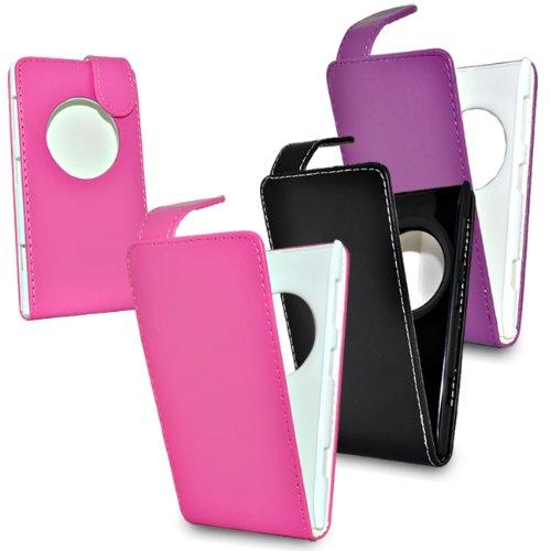 Accessory Master Cover in pelle per Nokia Lumia 1020, confezione da 3 pezzi, colori assortiti