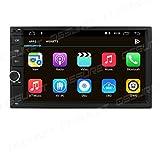 Radio Universal Android 10 Navegación 7 Pulgadas 2 DIN Estéreo Soporte WiFi Bluetooth Mirror Link RDS Control del Volante Dab + Coche Cámara de visión Trasera TPMS TV en Entrada DVR