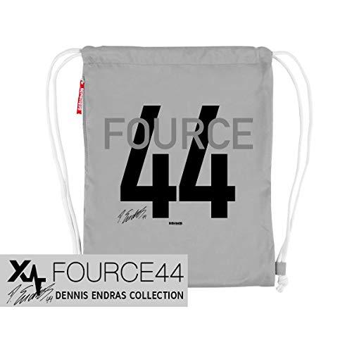 Scallywag® Eishockey Tasche FOURCE44 I A BRAYCE® Collaboration (Gymsack mit Seitentasche aus der Offiziellen Goalie Dennis Endras FOURCE44 Collection)
