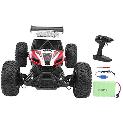 Atyhao RC Car, Maßstab 1:14 Großformat transformieren ferngesteuertes Auto Hochgeschwindigkeits Schnellrennen Monsterfahrzeug Hobby LKW Elektrisches Spielzeug für Jungen Jugendliche Erwachsene(rot)
