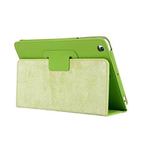 Galaxy tab A 8.0薄型携帯ケース2019、TechCodeライト級スマートブックケース、多角度マイクロファイバーの裏地角度保護カバーを調べて、サムスンGalaxy tab A 8.0インチ2019 SM-T 290/T 295に適用されます。 (緑)
