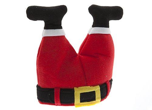 Novità Natale Cappello da Babbo Natale - Gambe Padre Natale Stuck in Chimney