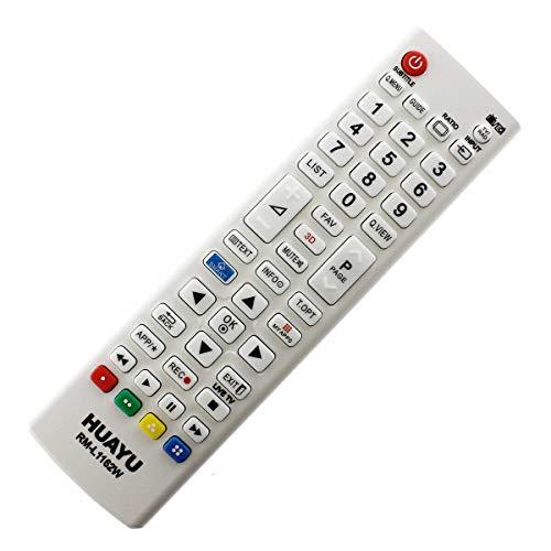 Mando a distancia de repuesto para LG 32LB5800 LCD/LED TV Remote Control, color blanco