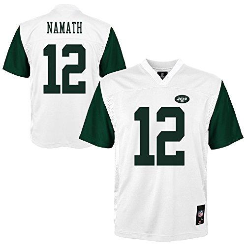 NFL New York Jets (Joe Namath) Player Jersey, Youth Boys X-Large(18)