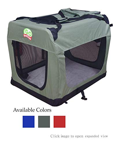 Go Pet Club Dog Pet Soft Crate, 32-Inch, Sage AmazonPets Basic Crates Dog from products Selection Selections Supplies Top