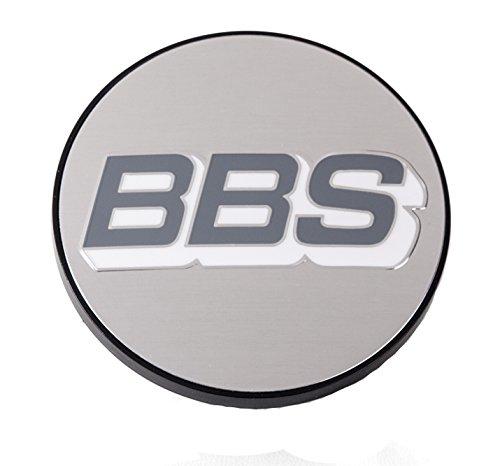 BBS Nabendeckel 70mm Silber/weiß - 0924486